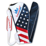 USA Flag Star and Strip Golf Sunday Bag