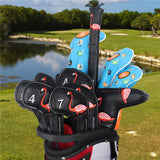 Flamingo Leather Extended Version Iron Head Cover Set