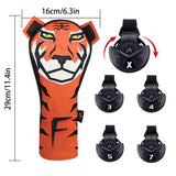 Tiger Golf Head Covers