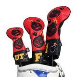 Angry Bombs Golf Head Covers - CraftsmanGolf