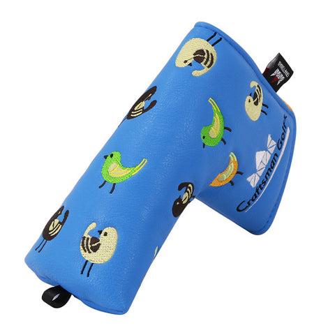 Birdies Leather Blade Putter Headcover