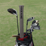 Custom Alignment Stick Covers(Black/White/Brown/Gray) - CraftsmanGolf
