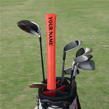 Custom Alignment Stick Covers (Red/Orange/Pink) - CraftsmanGolf