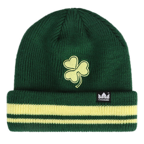 Green Knitted Lucky Clover Hat - CraftsmanGolf