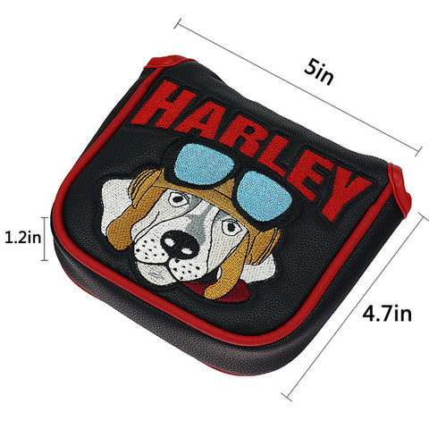 Harley Dog Large Mallet Putter Headcover - CraftsmanGolf