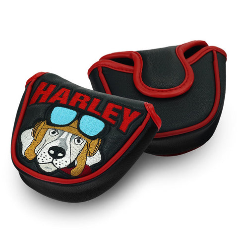 Harley Dog Mallet Putter Headcover - CraftsmanGolf