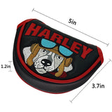 Harley Dog Mid-Mallet Putter Headcover - CraftsmanGolf