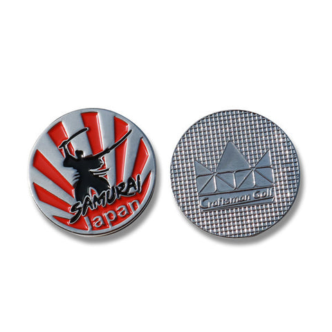 Japan Samurai Golf Ball Marker