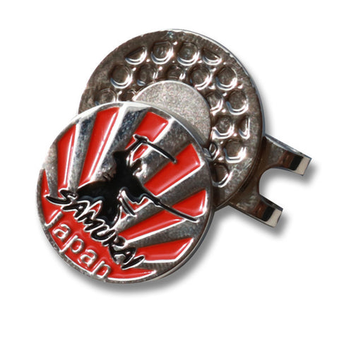 Japan Samurai Golf Ball Marker - CraftsmanGolf