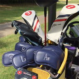 Leather Iron Head Cover Set - CraftsmanGolf