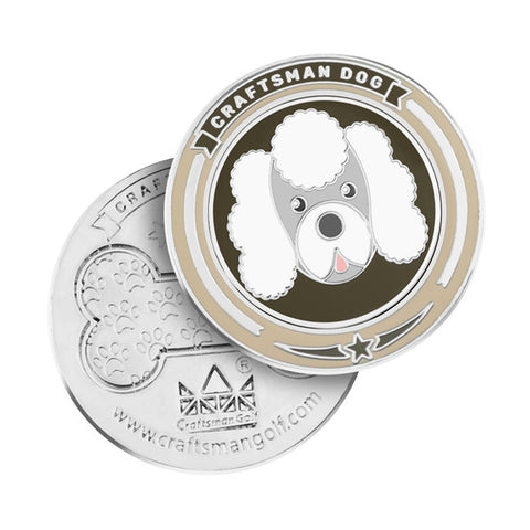 Dogs Golf Ball Markers - CraftsmanGolf