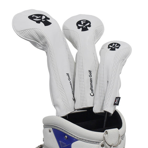 Skull Leather Golf Head Covers