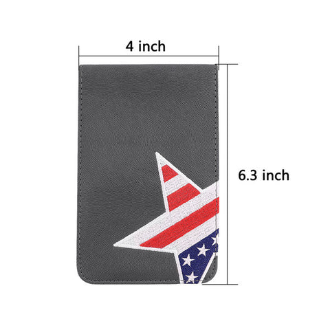 Stars Flag Scorecard and Yardage Book Holder - CraftsmanGolf
