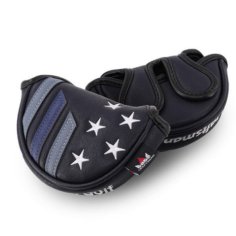 Stars&Stripes Mid-mallet Putter Headcover (Dual Magnetic straps) - CraftsmanGolf