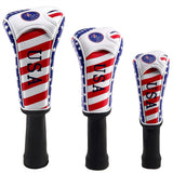 USA Flag Long Neck Golf Head Cover