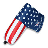 USA Flag Stars and Stripes Golf Putter Head Cover - CraftsmanGolf
