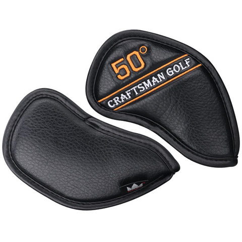 Wedge Iron Protective Headcover 48° 50° 52° 54° 56° 58° 60° 62° 64° - CraftsmanGolf