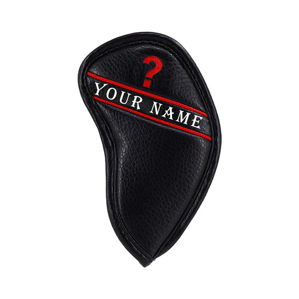 Custom Individual Colorful Embroidery Number Iron Head Cover - CraftsmanGolf