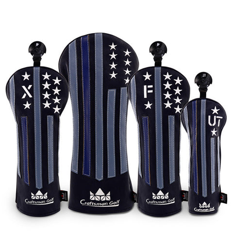 Stars&Stripes Golf Head Cover - CraftsmanGolf