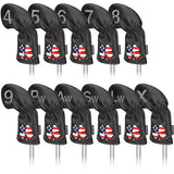 USA Flag Clover Iron Head Covers Set - CraftsmanGolf
