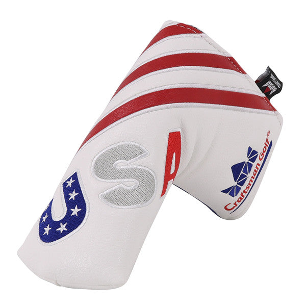 USA Red&Blue&White Blade Putter Cover - CraftsmanGolf