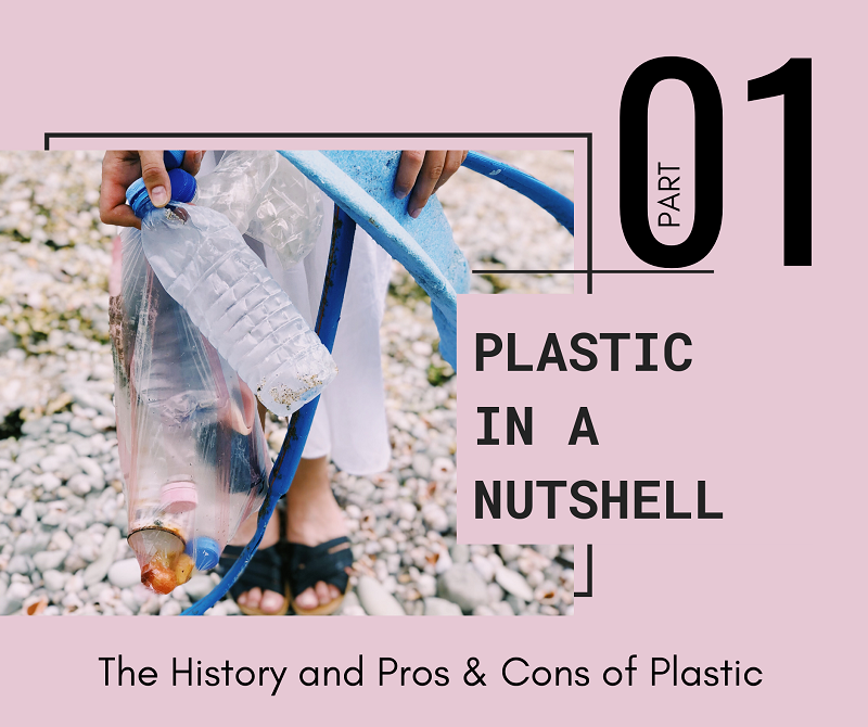 Plastic in a Nutshell Part 1: The History and Pros & Cons of Plastic