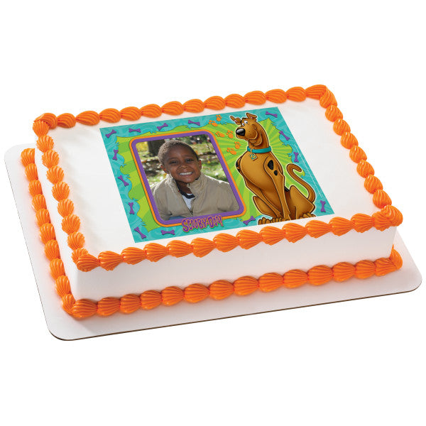 Scooby Doo Scooby Doo And You Picture Frame Edible Cake Cupcake