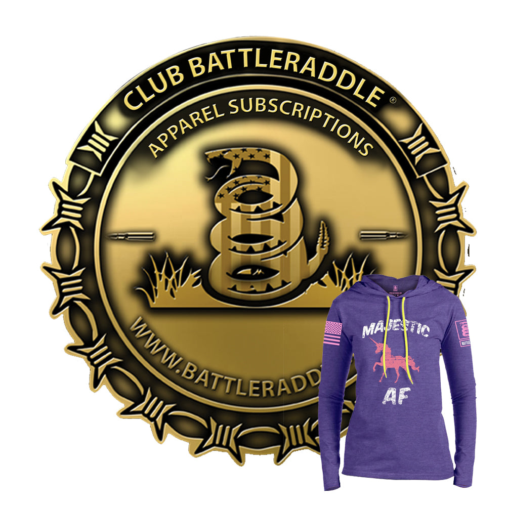 Club Battleraddle® Monthly Apparel Subscriptions