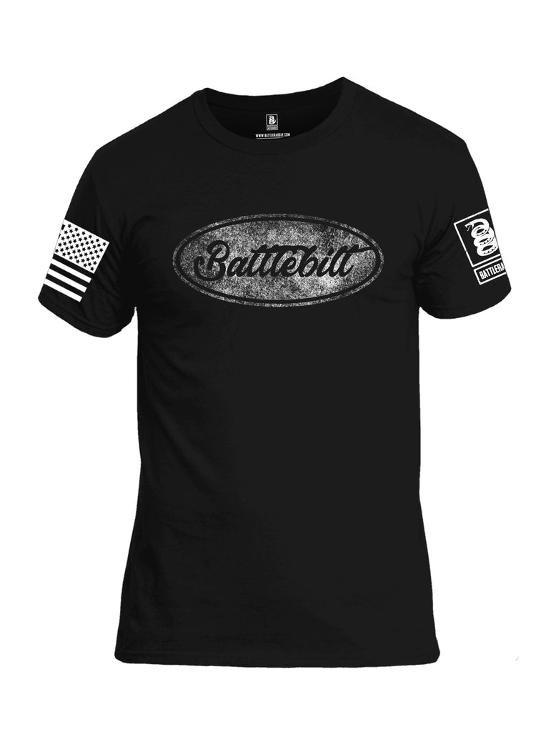 Battleraddle Battlebilt  Men Cotton Crew Neck T-Shirt
