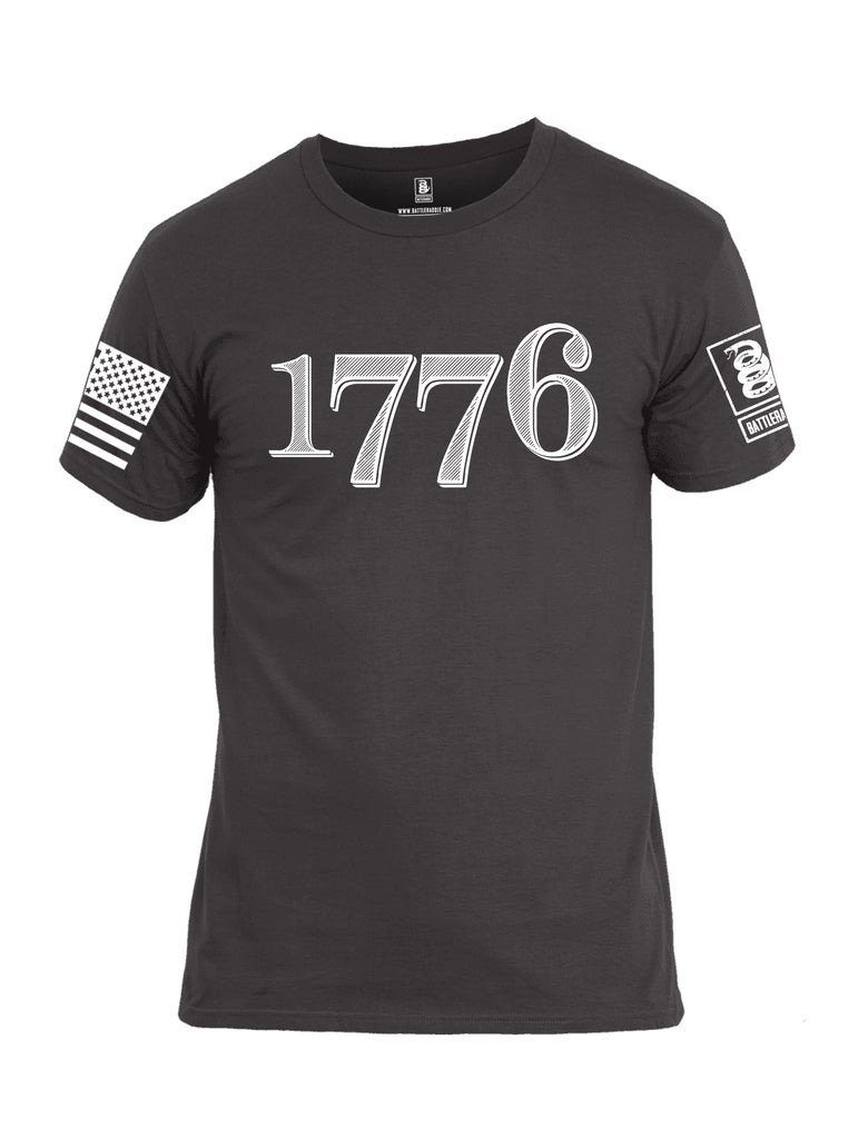 Battleraddle 1776 Men Cotton Crew Neck T-Shirt