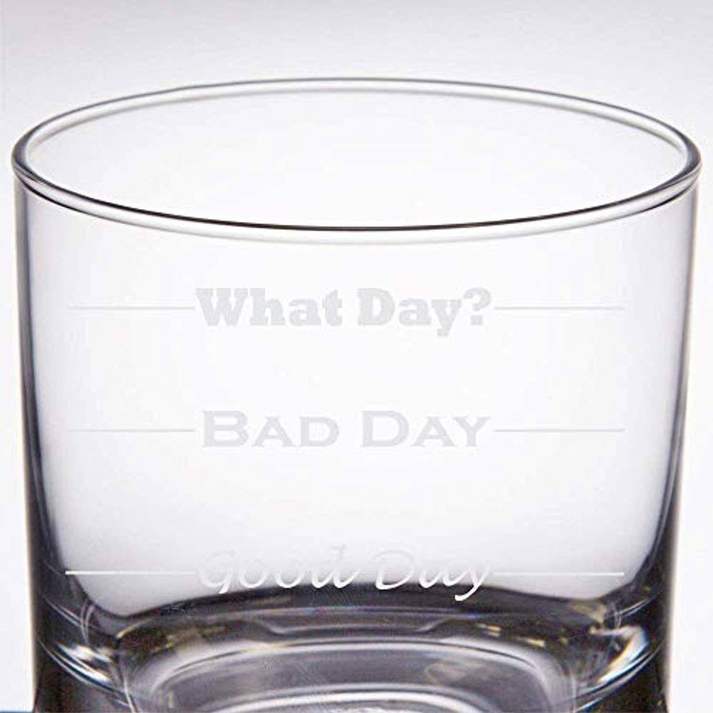 Battleraddle Good Day, Bad Day 11 oz Rock Glass shirt|custom|veterans|