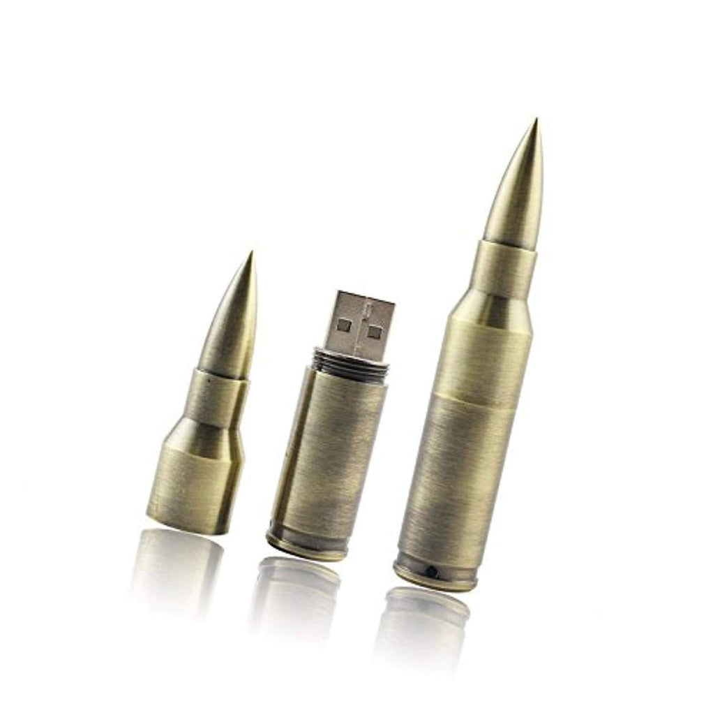 Battleraddle Bullet USB Flash Drive Memory Stick with Keychain shirt|custom|veterans|
