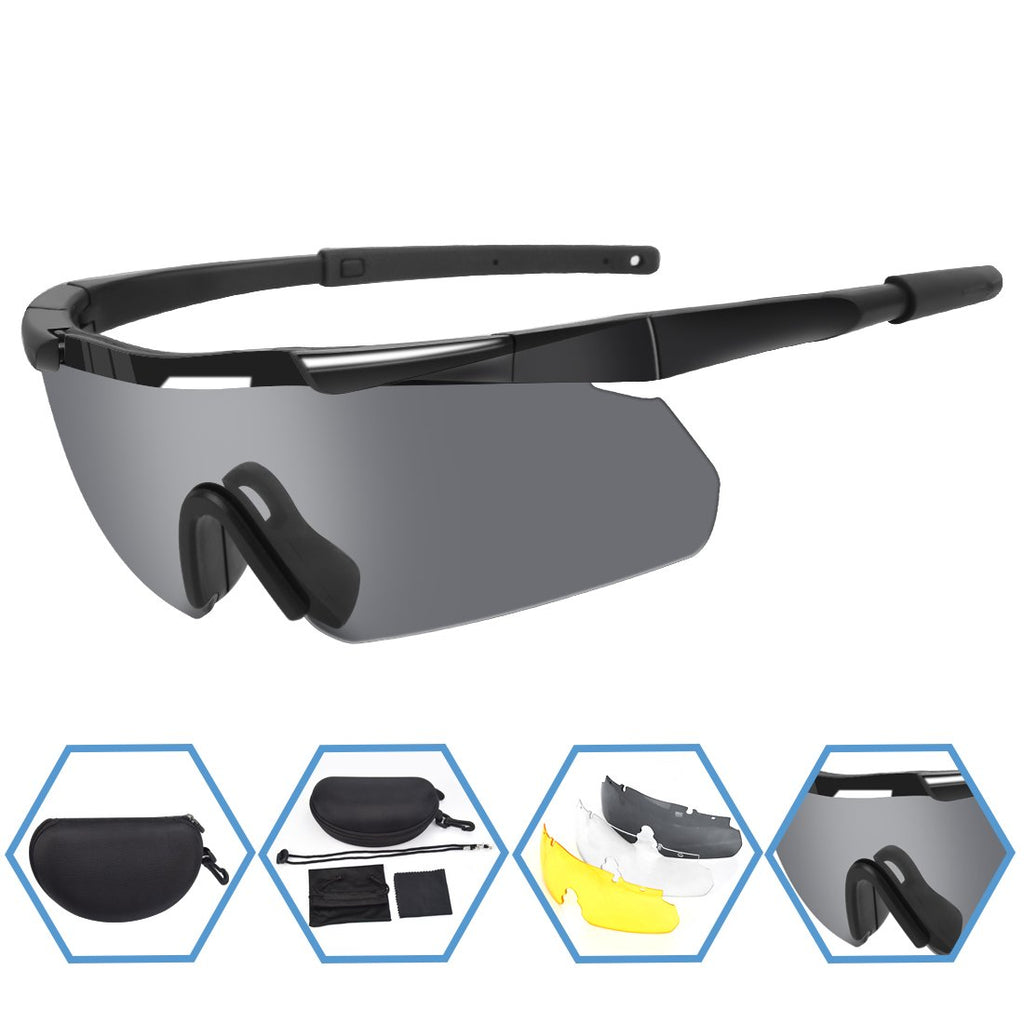 Battleraddle Tactical 3 Color Lens Sunglasses
