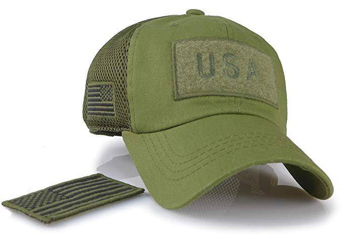 Battleraddle Trucker Tactical Operator Forces USA Flag Patch Baseball Cap shirt|custom|veterans|Hats