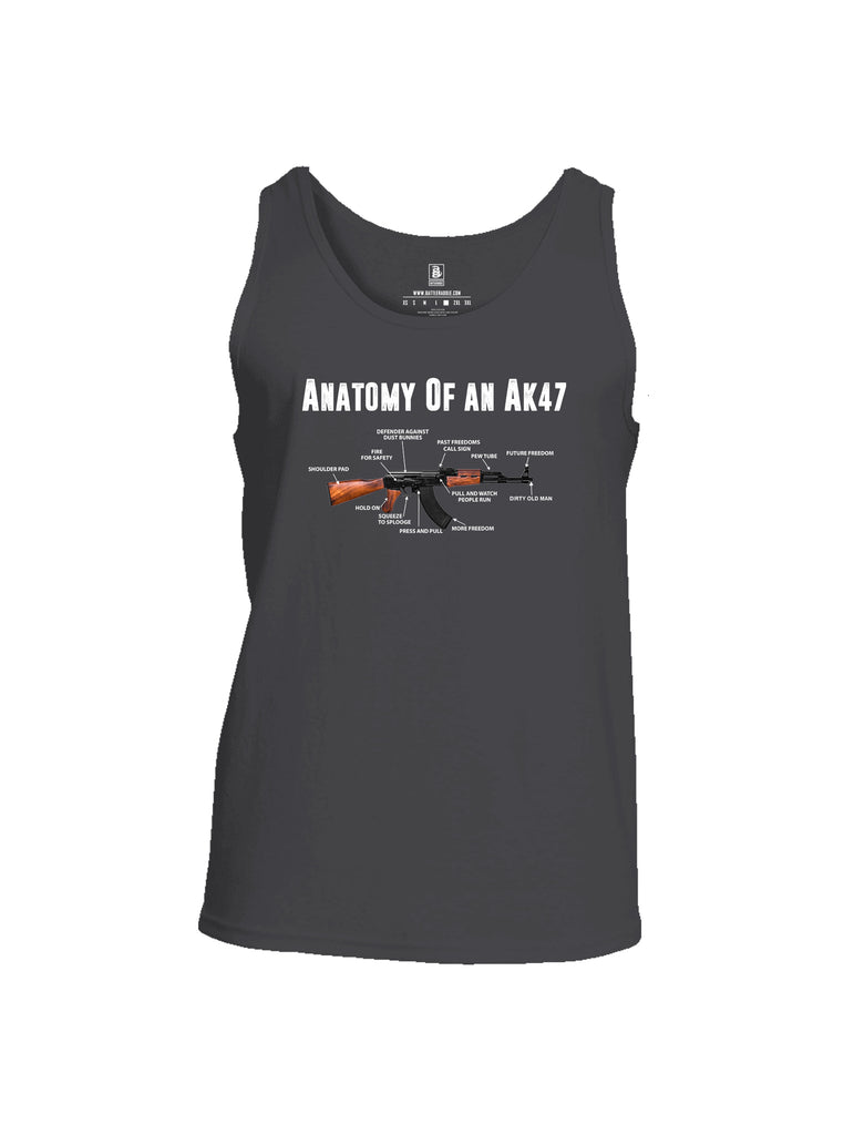 Battleraddle Anatomy Of An AK47 Mens Cotton Tank Top