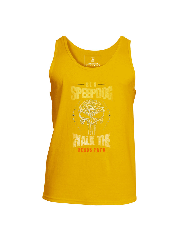 Battleraddle Be A SpeepDog Walk The Hero's Path Mens Cotton Tank Top - Battleraddle® LLC