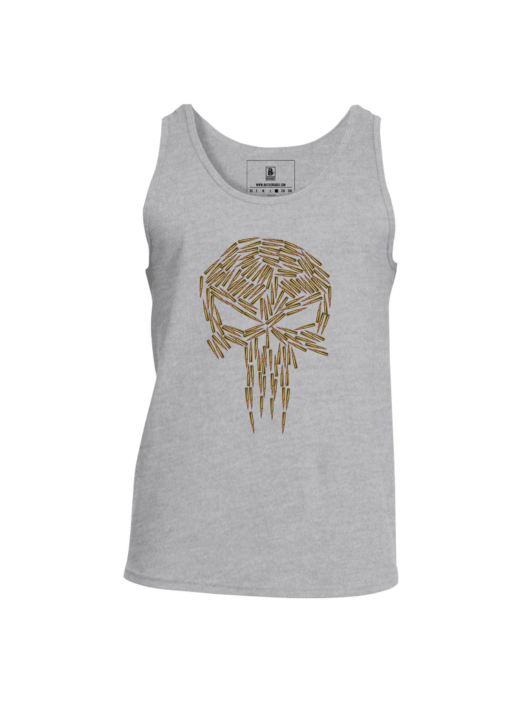 Battleraddle Brass Skull Mens Cotton Tank Top - Battleraddle® LLC
