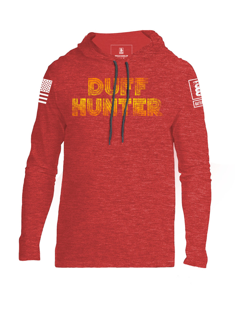 Battleraddle Duff Hunter Ultimate Wingman Mens Thin Cotton Lightweight Hoodie