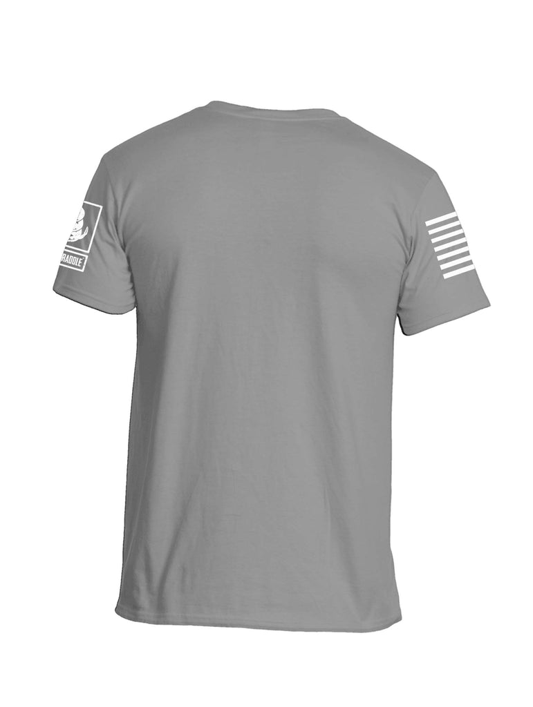 Battleraddle Basic Line Sleeve Print Mens Cotton Crew Neck T Shirt - Battleraddle® LLC