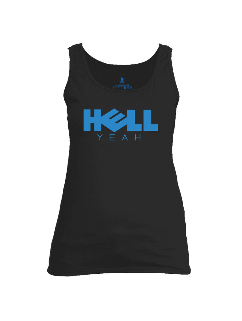 Battleraddle Hell Yeah Womens Cotton Tank Top