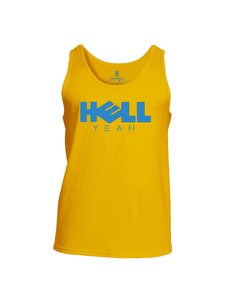Battleraddle Hell Yeah Mens Cotton Tank Top