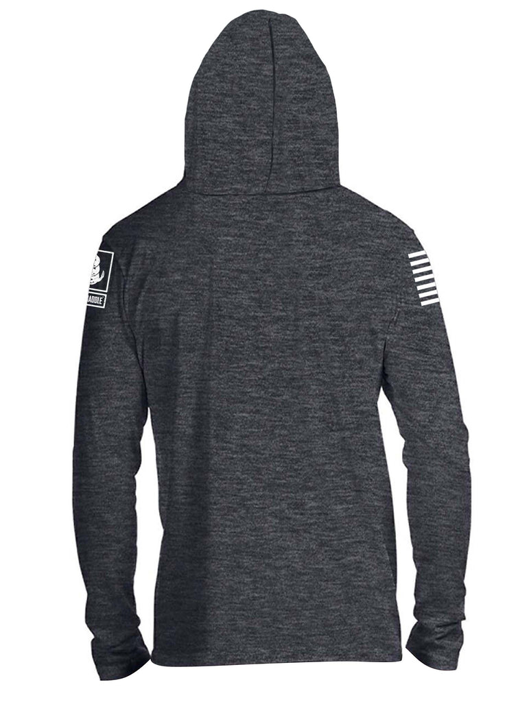 Battleraddle Stay Hard Mens Thin Cotton Lightweight Hoodie