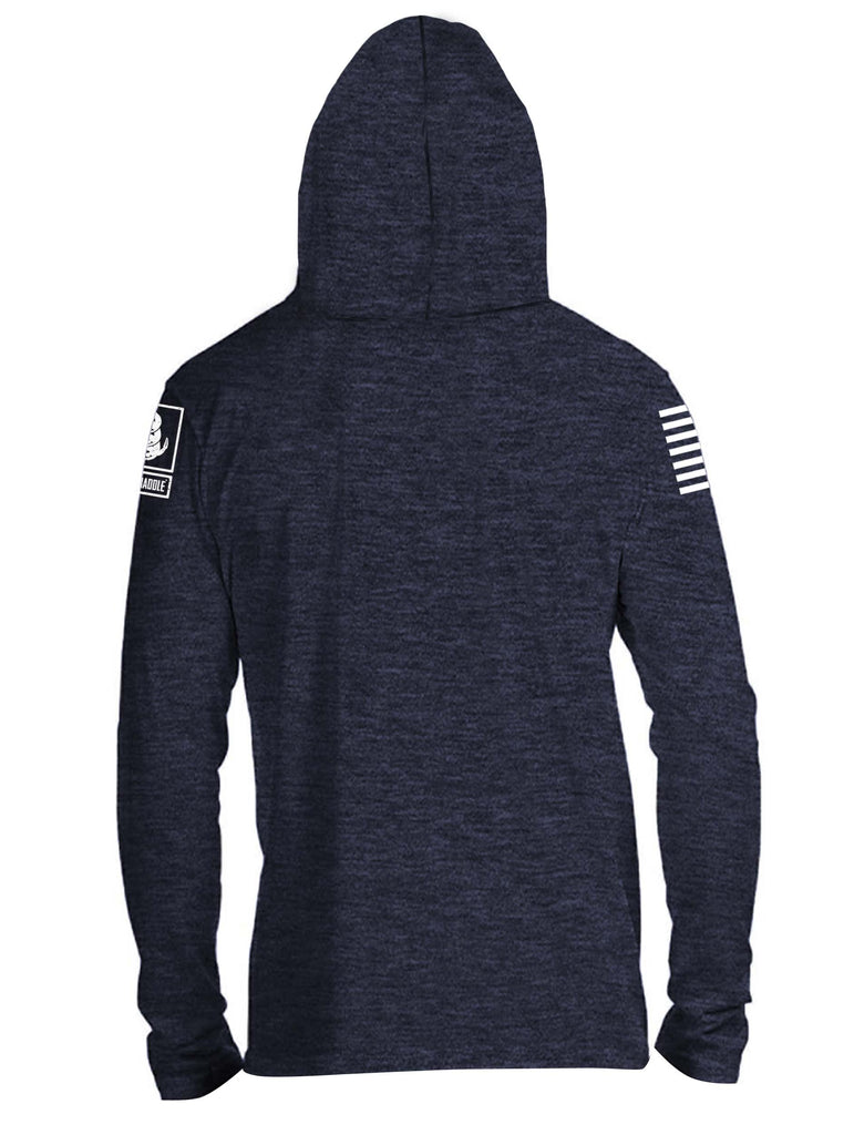Battleraddle #NeverDUI Mens Thin Cotton Lightweight Hoodie - Battleraddle® LLC