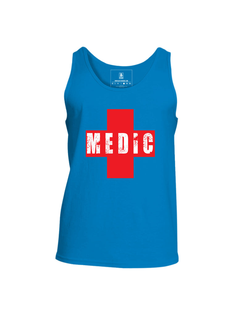 Battleraddle Medic Mens Cotton Tank Top