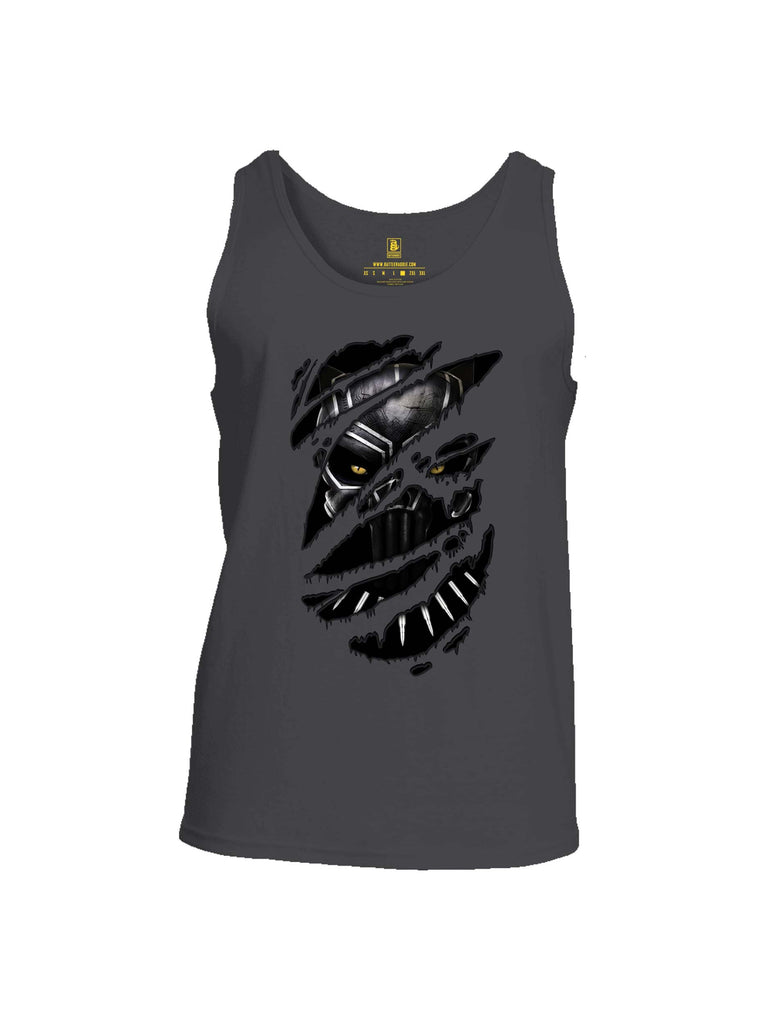 Battleraddle Panting Bullet Expounder Skull Ripped Mens Cotton Tank Top