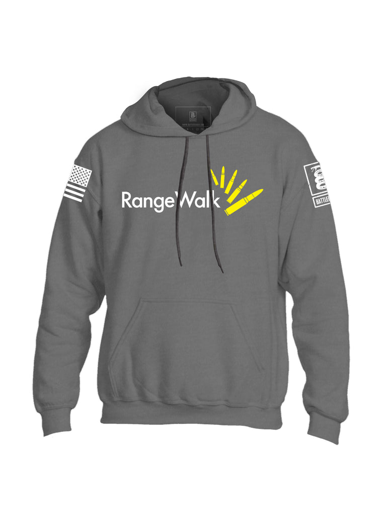 Battleraddle Range Walk Mens Blended Hoodie With Pockets