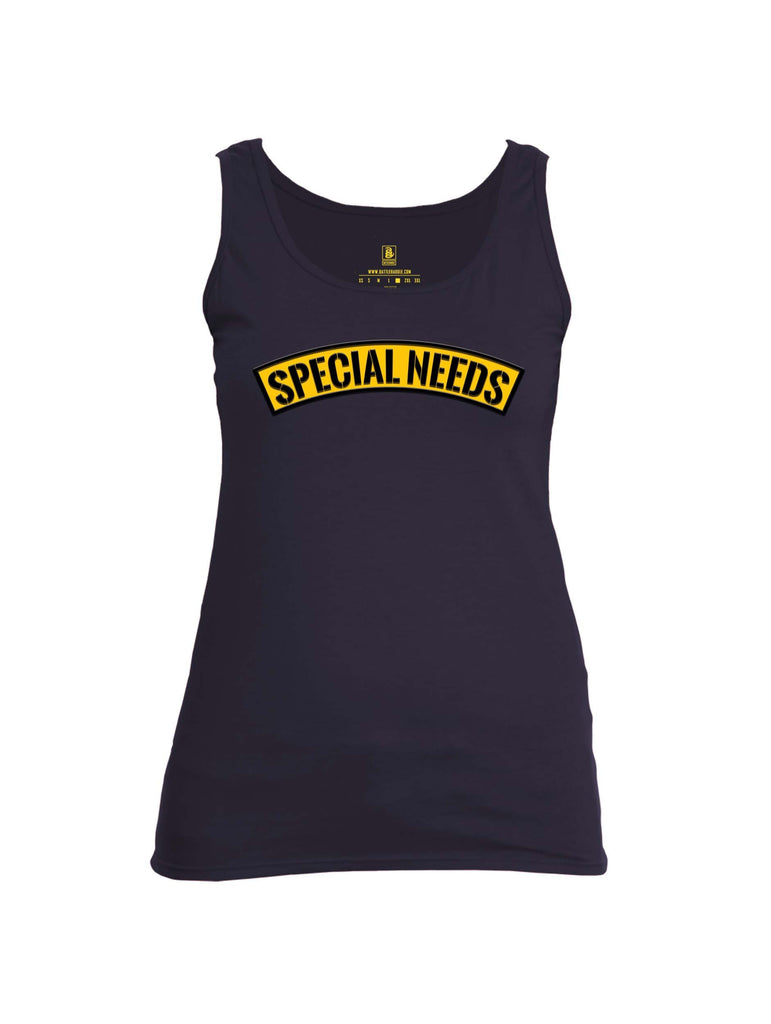 Battleraddle Special Needs Womens Cotton Tank Top