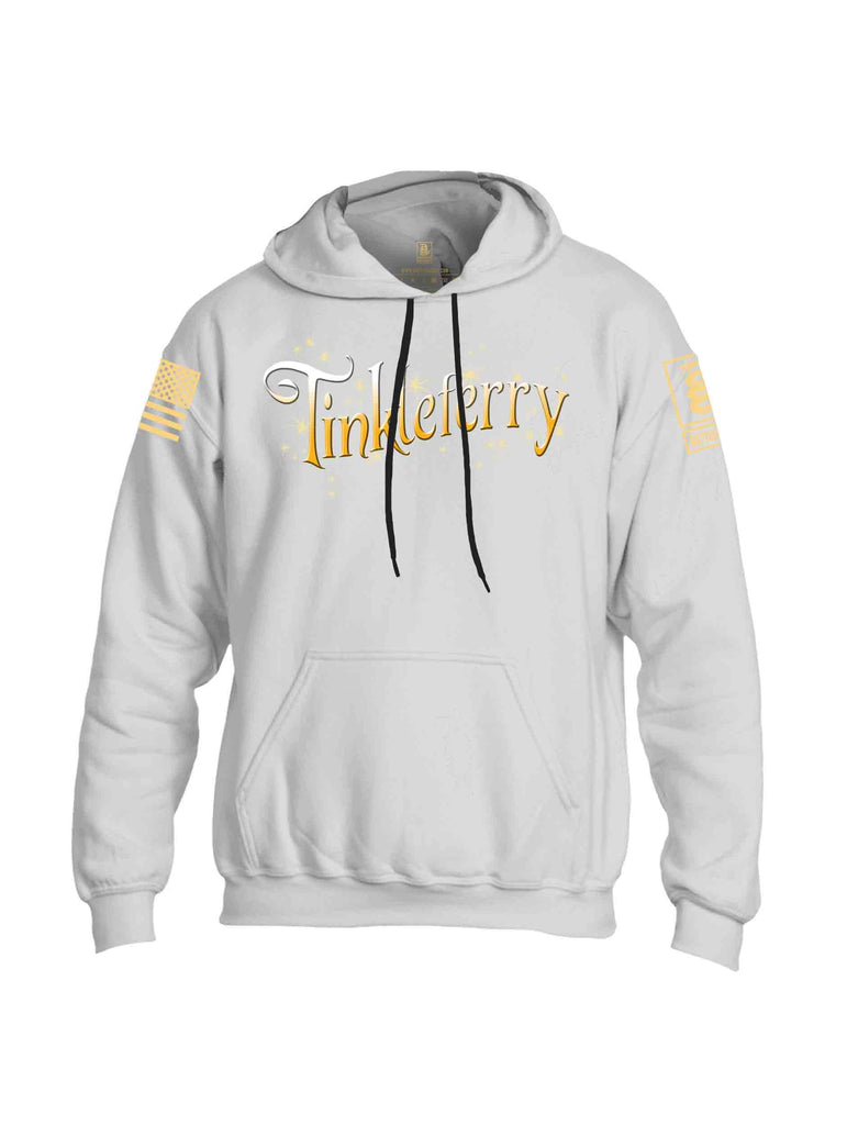 Battleraddle Tinkleferry Yellow Sleeve Print Mens Blended Hoodie With Pockets