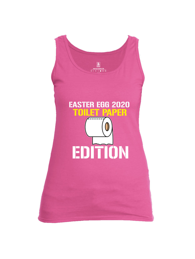 Battleraddle Easter Egg 2020 Toilet Paper Edition Womens Cotton Tank Top