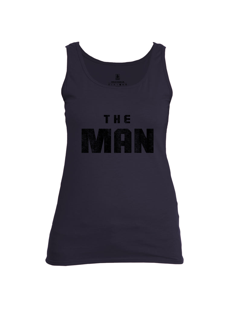 Battleraddle The Man Womens Cotton Tank Top